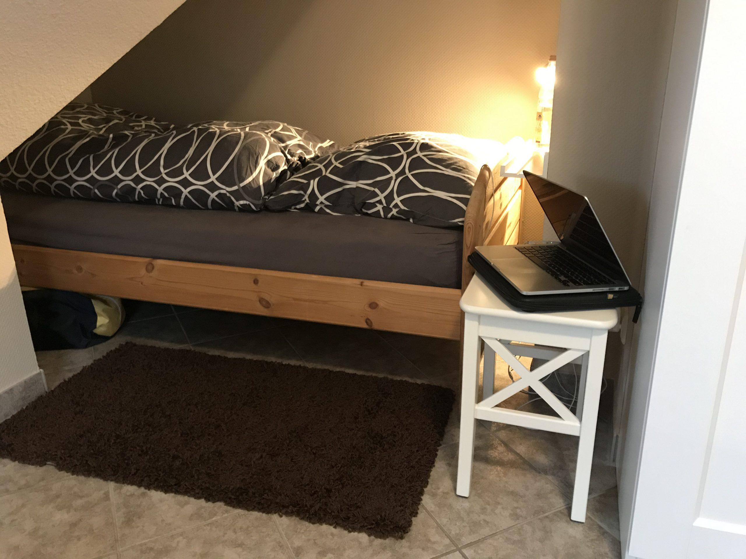 ... und ein Einzelbett